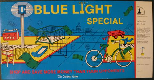 Blue Light Special Board Game