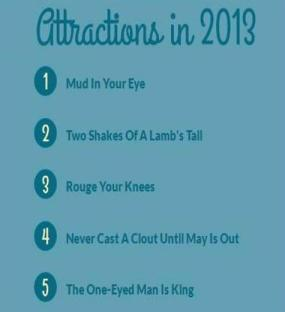 Top 5 Idioms in 2013_IMAGE