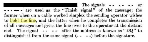 US Military Signals_Rule 89_1909