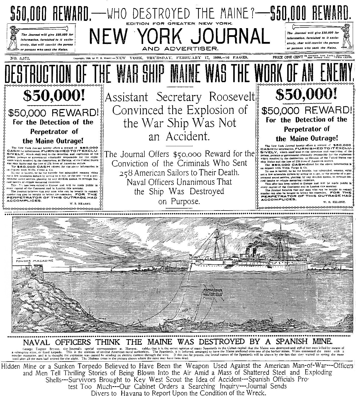 new-york-journal_maine-destroyed