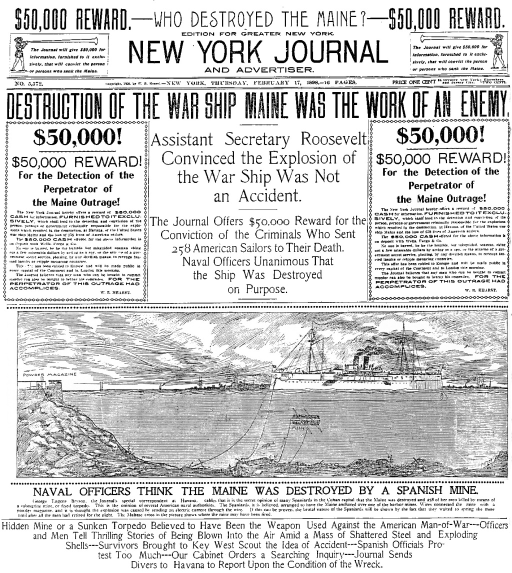 new-york-journal_maine-destroyed